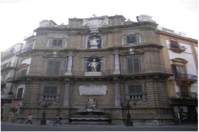 Cuatro Esquinas de Palermo en Sicilia