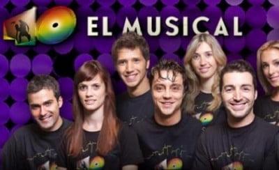 40 EL MUSICAL horarios
