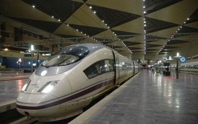 AVE a Barcelona