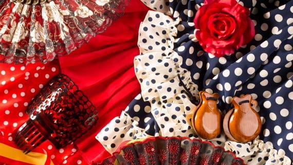 Accesorios del baile flamenco
