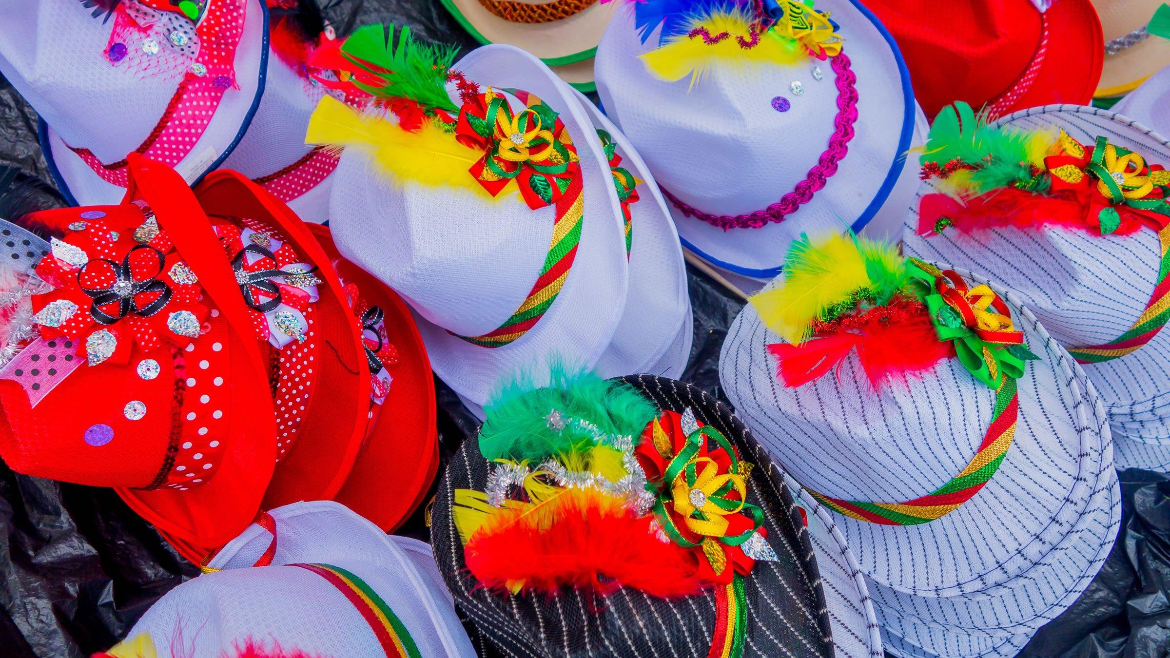 Accesorios para el Carnaval de Barranquilla