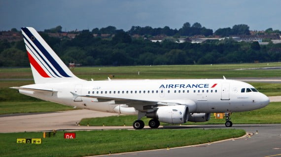 Airplane of the airline AirFrance