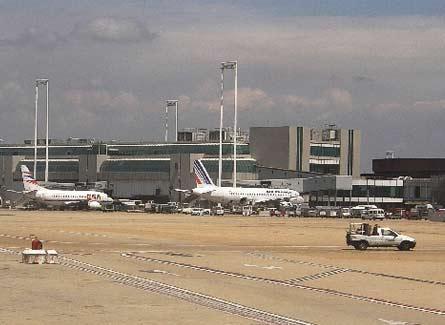 Aeropuerto Fiumicino en Roma
