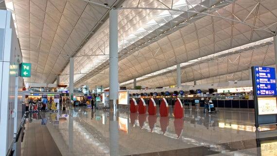 Hong Kong Nazioarteko Aireportua, Txina