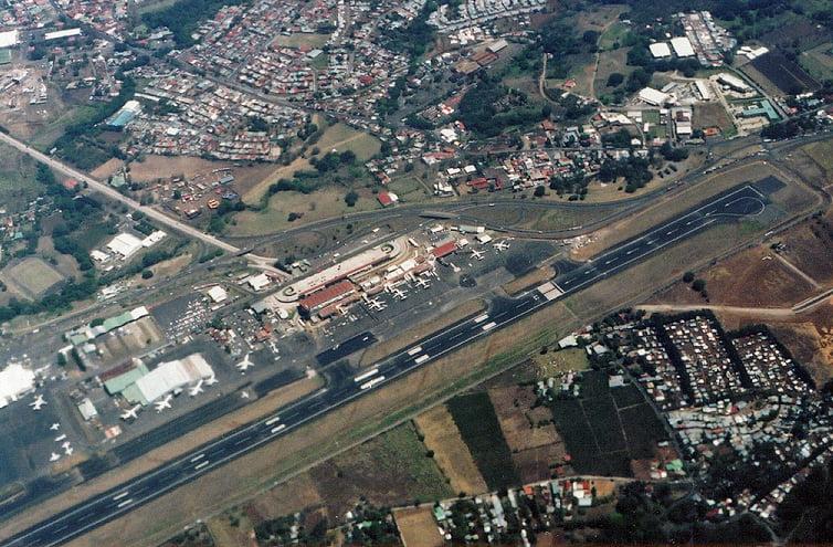 Aeropuerto Santamaría Costa Rica