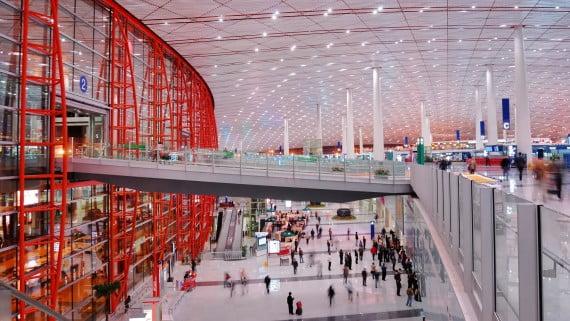 中國北京機場