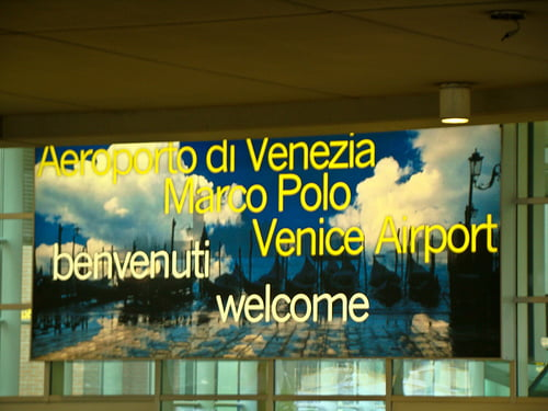 Aeropuerto de venecia - Marco aldany puerto venecia ...