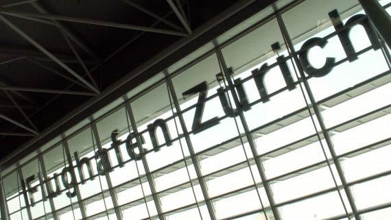 Flughafen Zürich, Schweiz