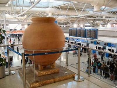 Aeropuerto y Museo en Atenas
