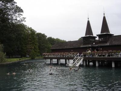 Aguas del Lago Heviz