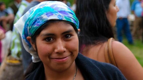 Aldea Mapuche en Curarrehue (Chile)