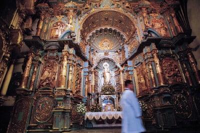 Altar de Catedral de Lima