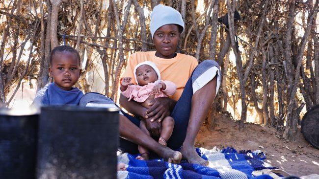 Altos índices de pobreza en África