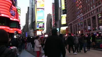 Ambiente navideño en Nueva York