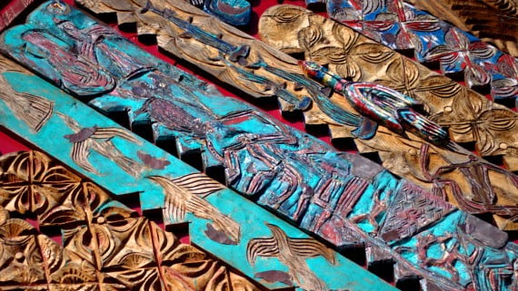Arte maorí
