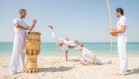 Atuendo para practicar capoeira