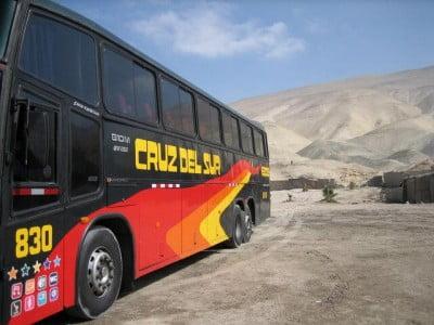 Autobus al Cuzco