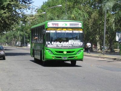 Autobus de linea ecológicos - Rosario