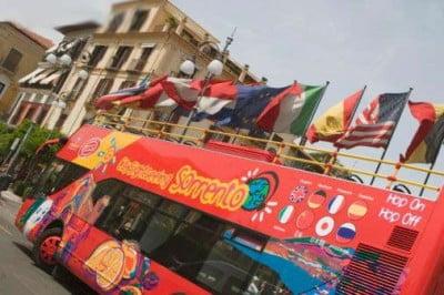 Autobus en Italia