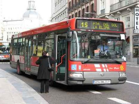 Autobuses en madrid for Bus barcelona paris barato