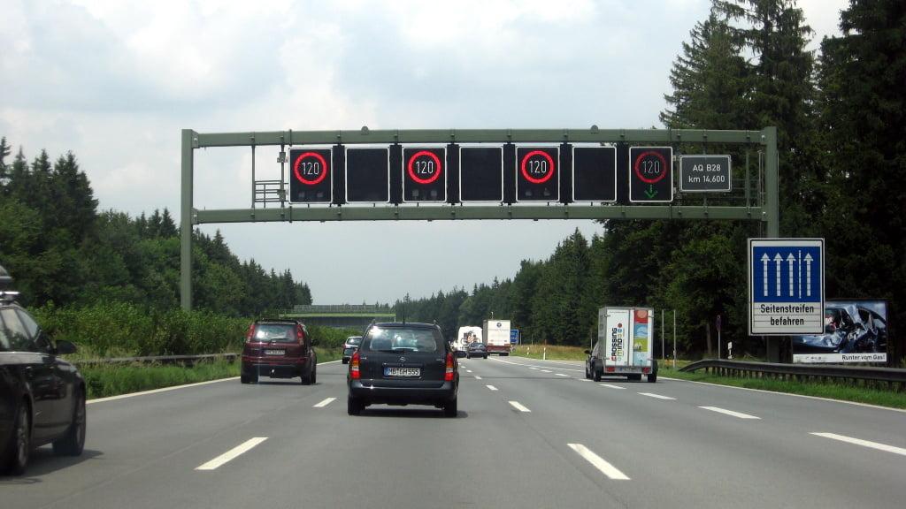 Autopista en Alemania