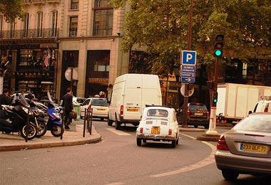 Autos para llegar a Paris
