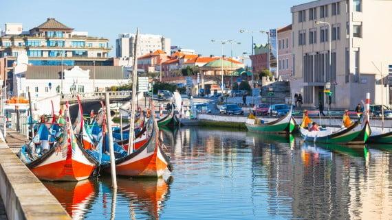 Aveiro, la ciudad conocida como La Venecia de Portugal
