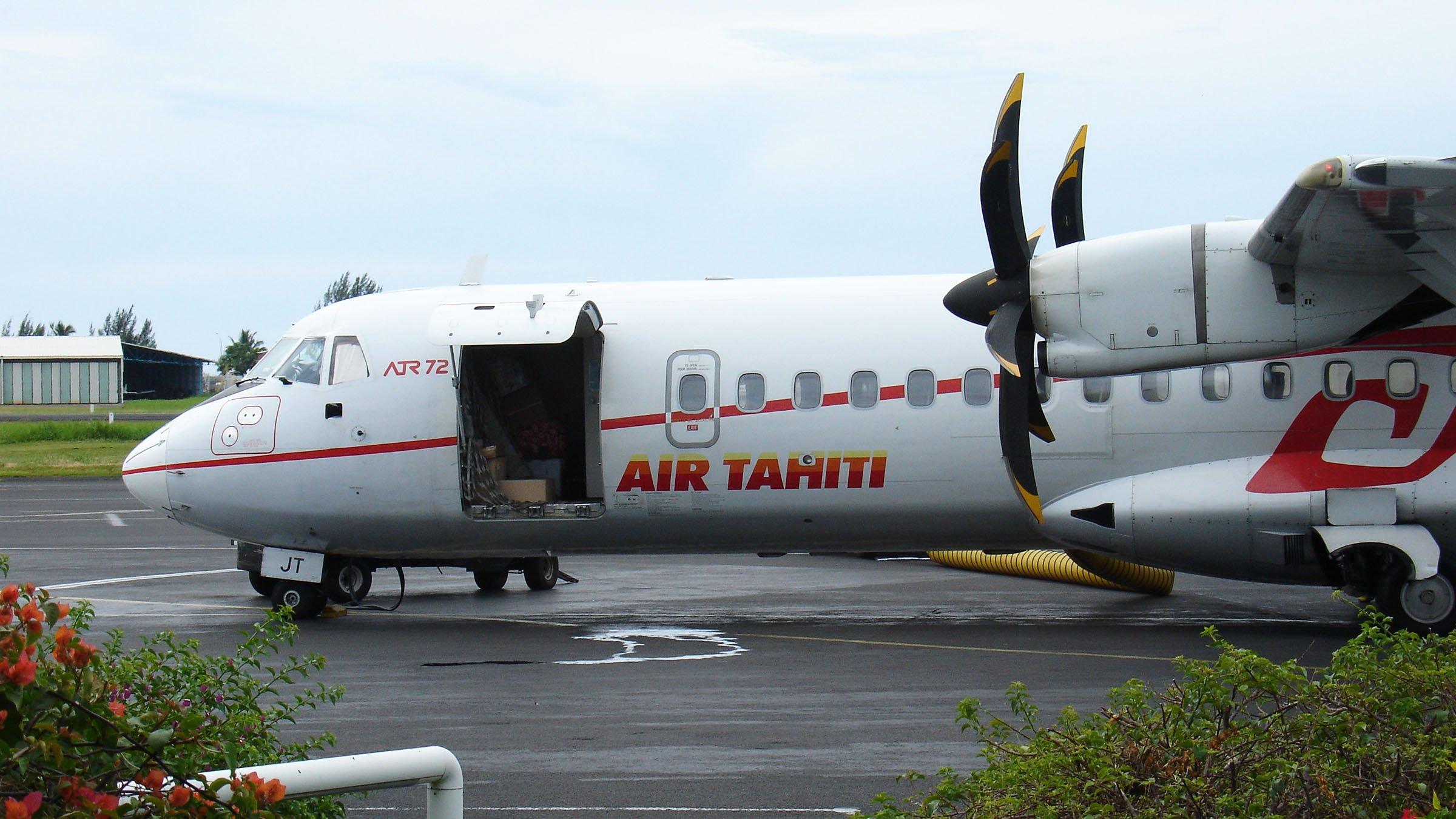 Avión con destino a Bora Bora