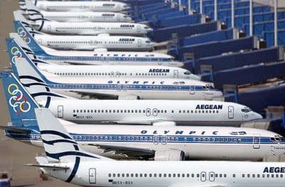 Aviones de Aegean Airlines