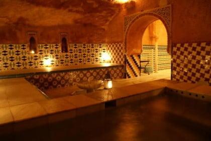 Baños turcos en Granada