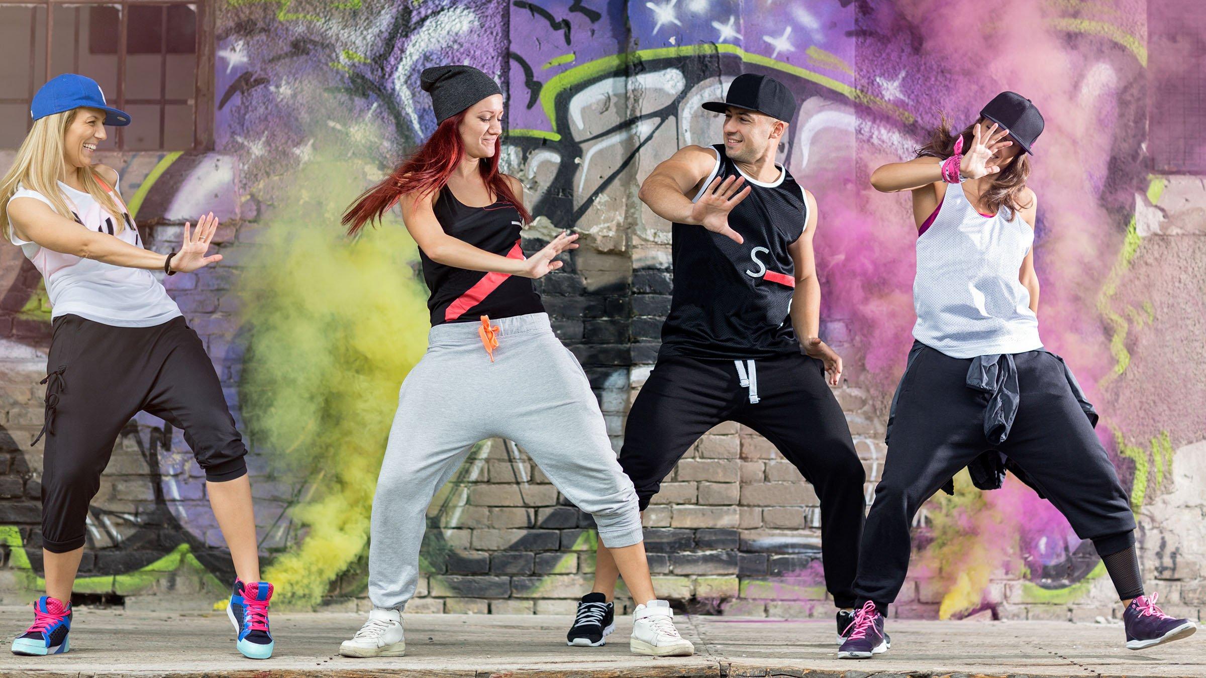 privado bailarines bailando