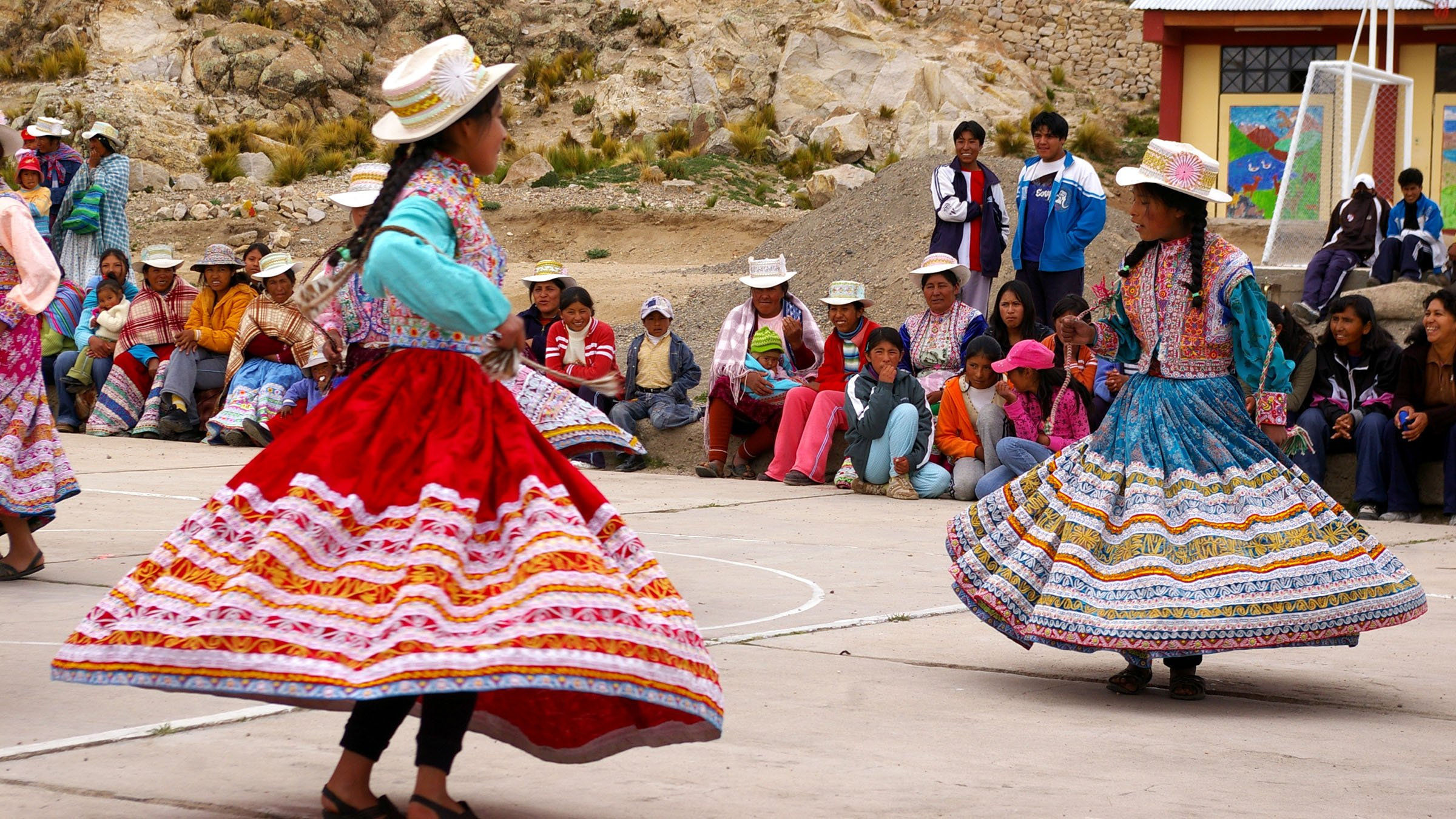 Los Bailes Tipicos De La Region Andina Videos E Imagenes