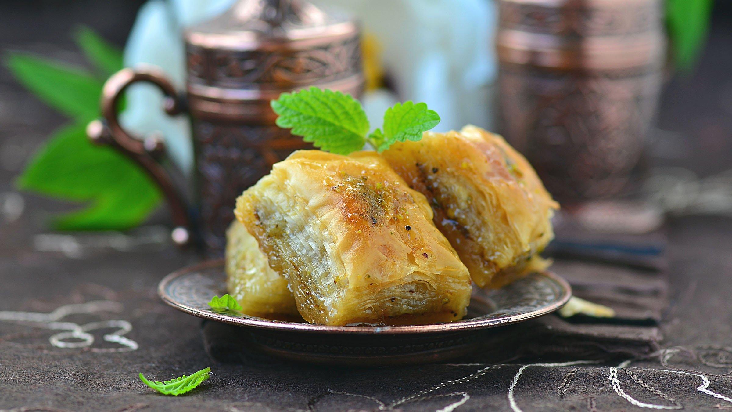 comida típica de Egipto: Baklava