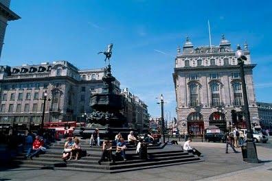 Barrios de Londres-Piccadilly circus