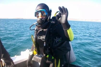 Bautismo de buceo en Puerto Madryn