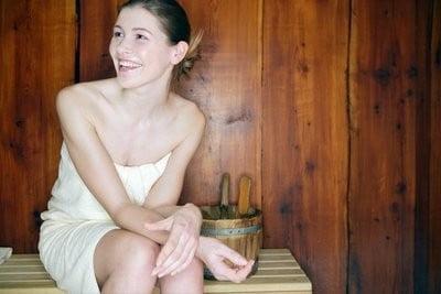 Beneficios de la Sauna divirtiéndose