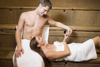 Beneficios de la Sauna pareja