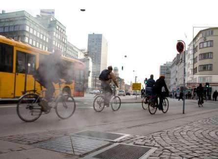 Bicicletas forman parte del transito