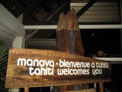 Bienvenida a Tahití