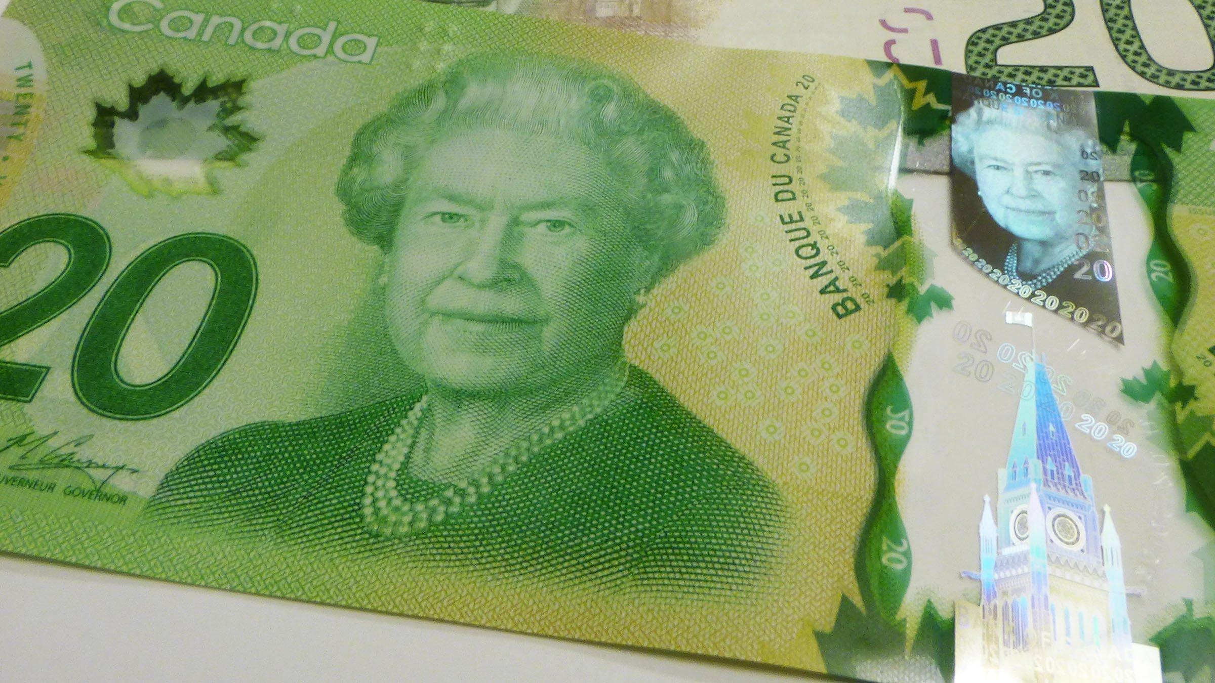 Billetes - Canada