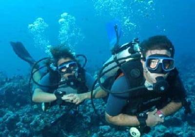 Buceo en Tahiti