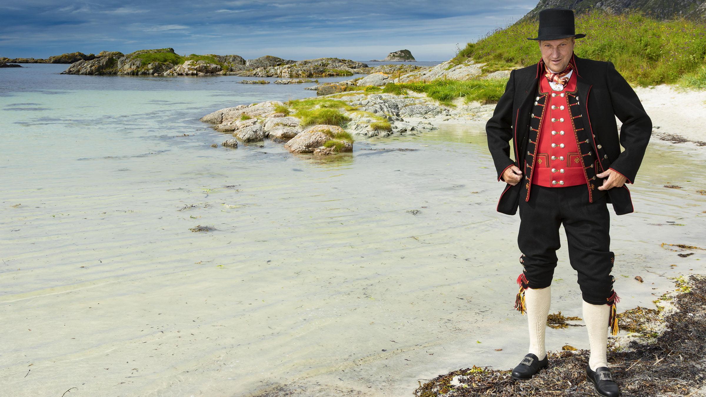 Bunad ropa noruega