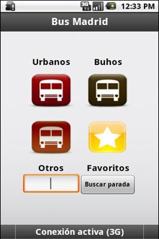Bus Madrid