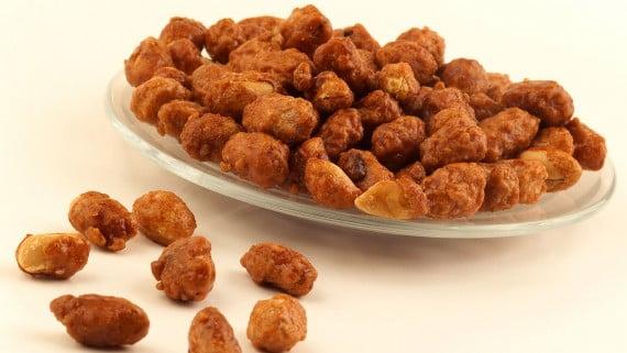 Cacahuetes caramelizados