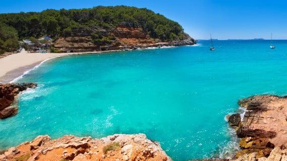 Cala Salada, Ibiza, España