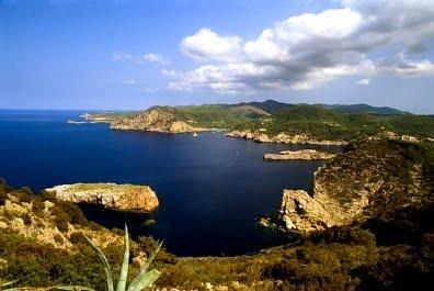 Calas de Ibiza paisaje