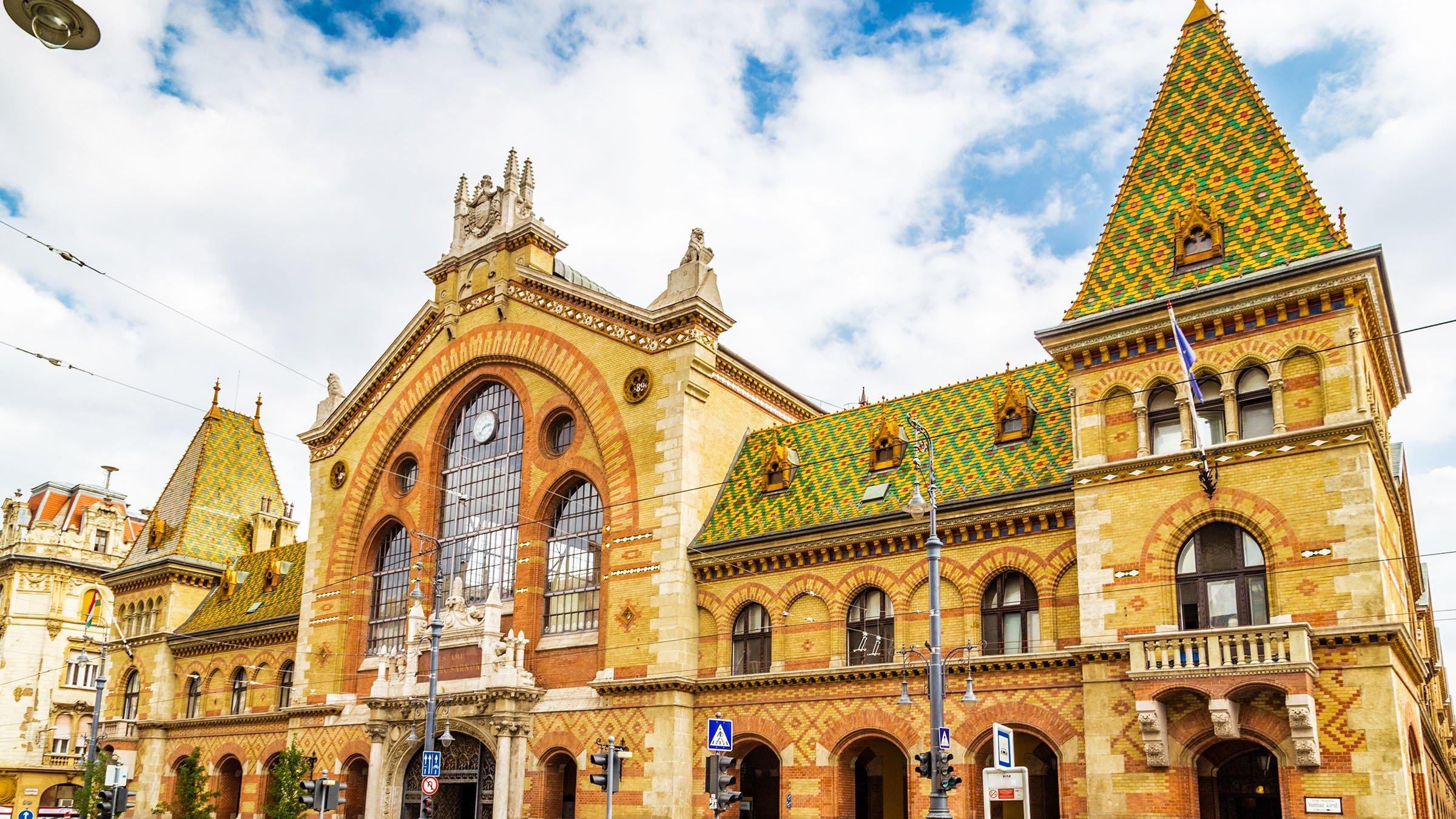 mercado central de budapest hungr a
