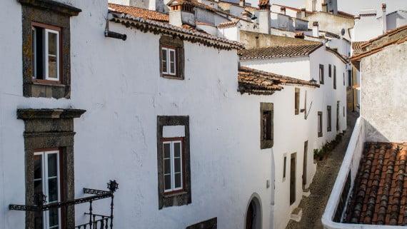 Calles de Marvão, Portugal