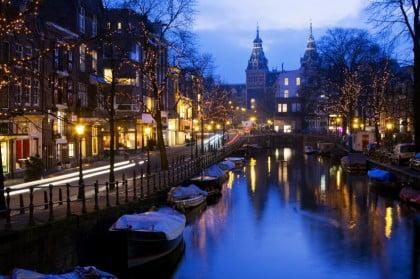 Caminar por Amsterdam