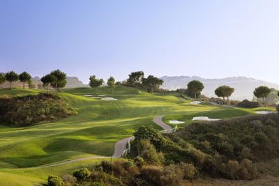Campo de golf en Andalucía